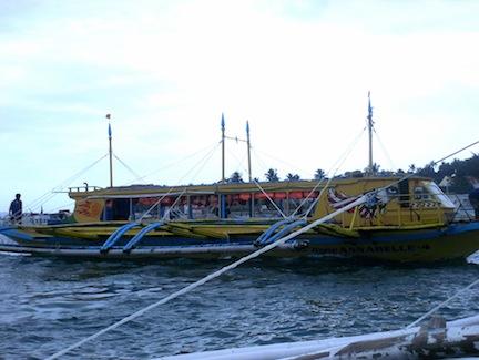 Pump Boat in Boracay