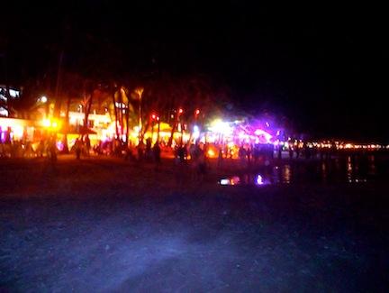 Boracay at night