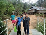 Paw Eh Eh, Jungle Aid's hospital liaison and translator; and a volunteer translator