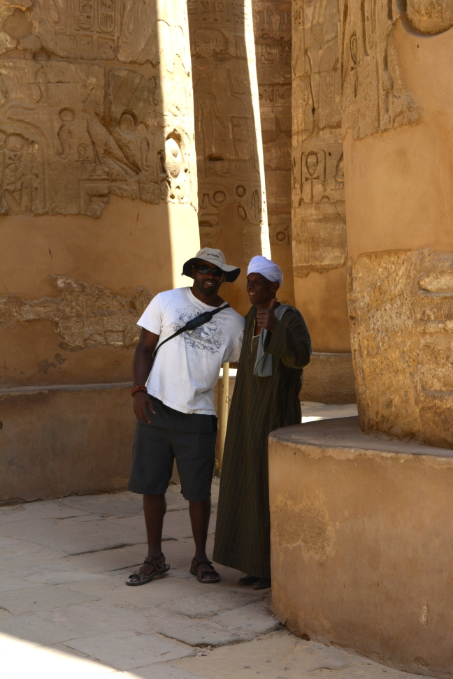 Matthew in Luxor